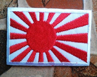 Japan flag rising sun patch.