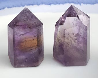 Ametrine Points Crystal Grid Healing Crystals