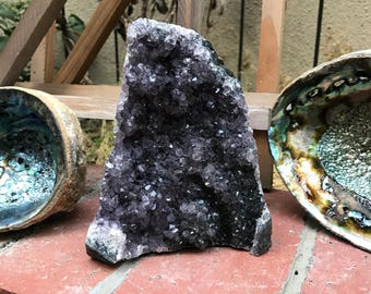 Large Amethyst Geode Bohemian Decor