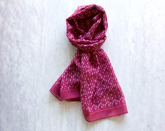 Nasty Woman: Scarf with a secret statement