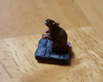 D&D Miniature pathfinder Dire rat