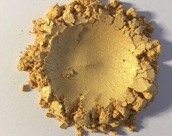 Natural Mineral Makeup Shimmer Eye Shadow 24k Gold