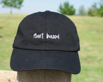 Vegan Black Plant Based Cap
