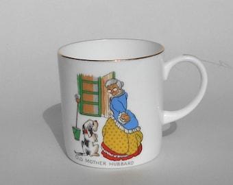 Bone China Nursery Rhyme Cup