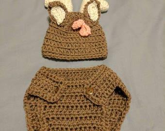 Crochet Deer outfit Newborn