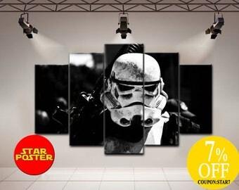 Stormtrooper canvas, Star wars art, Star Wars Stormtrooper art, Star wars print, Stormtrooper canvas art, Star wars canvas, Stormtrooper art