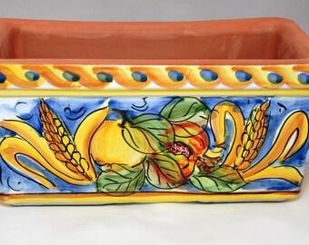 Traditional Sicilian Decorated Vase