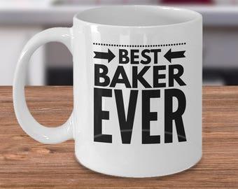 Baker Coffee Mug - Best Baker Gifts - Baking Mom Gift - Baking Gifts Under 20 - Best Baker Ever