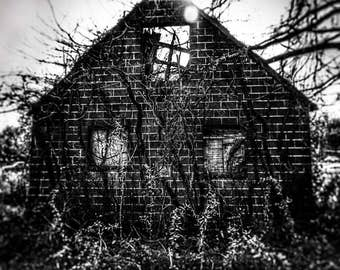 """House Nature Art Print entitled """"The Abandoned"""". Wall Decor,Photography, 2 of 3"""