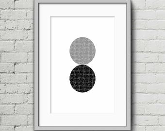 Circles I - Art Print