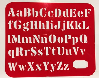 Alphabet Stencil (Frame) **Introductory Price!!**