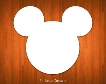 DISNEY DECAL, macbook decal disney, laptop decal disney, yeti decal disney, car decal disney, disney stickers, mickey decal, minnie mouse