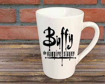 Buffy the Vampire Slayer Horror Mug Coffee Cup Gift Halloween Home Decor Kitchen Bar Gift for Her Him