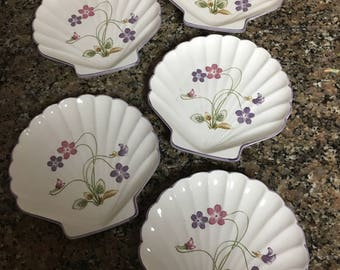 Violet Romance shell plates