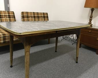 Kitchen table 50's vintage dining table
