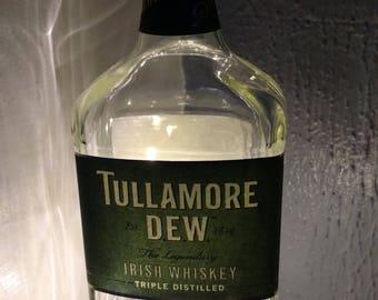 SALE!- Tullamore Dew liquor lamp