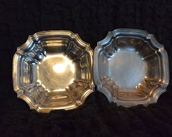 Towle Silver Plate Dishes Set of 2