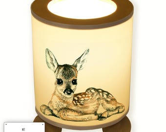 Night Stand Desk Lamp Deer Fawn TL023