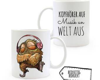 Gift Cup OWL music beat coffee mug TS317