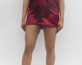 Ladies Satin Micro Mini Halter Neck Short Micro Mini Dress Ultra Short Soft Satin Mini Dress Party Dress