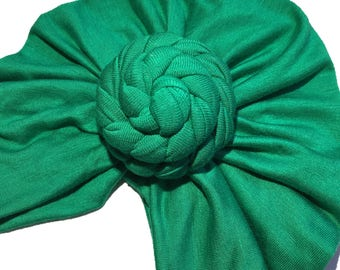 Rose knot turban hat ..