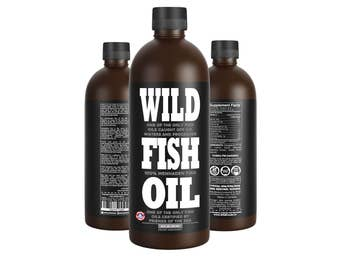 Wild Fish Oil, 16oz Omega-3 Epa/Dha/Dpa Sustainably Harvested - FOS Certified