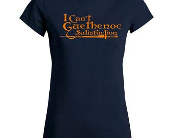 T Shirt I can't Guethenoc Satisfaction woman