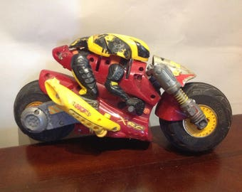 R/C Tyco Ricochet Motorcycle Only, No Remote Control