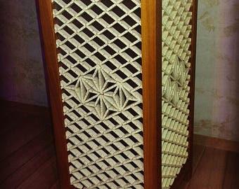 Handmade lamp, kumiko