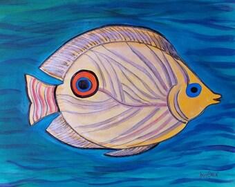 Celebrity Fish - Justin