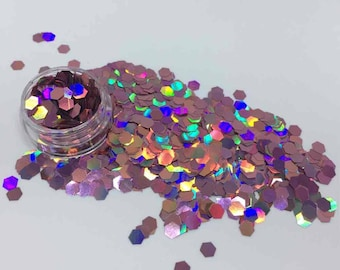 Holographic Pink Cosmetic Grade Festival Glitter - Cruelty Free