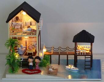 Maldives - DIY Miniature Dollhouse Kit