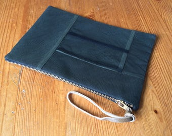 French Seam Wrist Bag