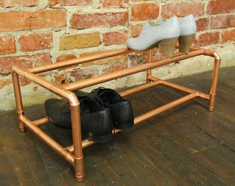 Copper Handmade Shoe Rack Holder