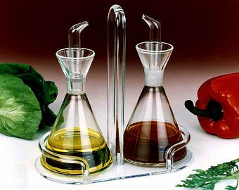 Glass Cruet Set - 6.5 oz