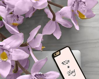 """Hard iPhone case """"Rise and Slay"""" 5/5s/5se/6/6s/6+/7"""