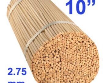 "100 10"" 2.75mm Natural Rattan Diffuser Reeds"