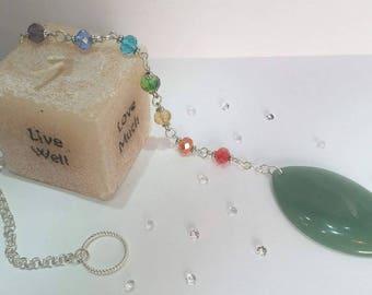 Jade Dowsing Pendulum