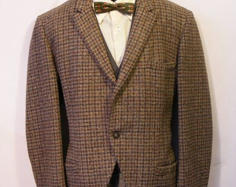 60s 70s Vintage Tweed Jacket 44