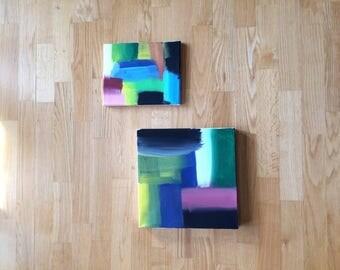 2-piece art decoration