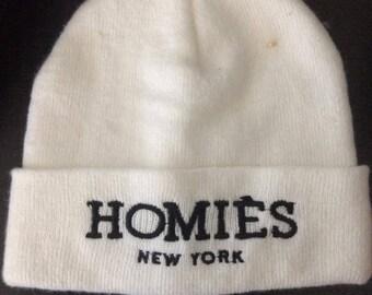 Bonnet Homies blanc