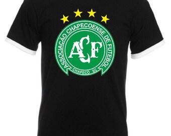 FC Chapecoense T shirt Brazil Football Soccer Tribute Birthday Gift 5 Colors Men Ringer Tee Top S-2XL