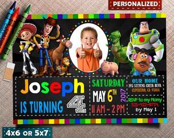 Toy Story invitation, Toy Story birthday invitation, Toy Story Invite, Toy Story Party, Tory Story printable invitation, Toy Story