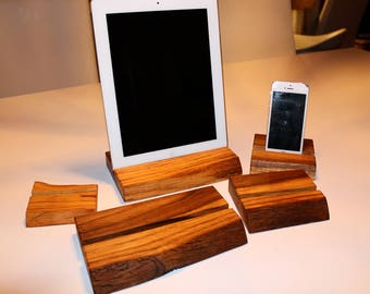 Made in Sweden - Wooden iPhone/iPad/Smartphone Stand