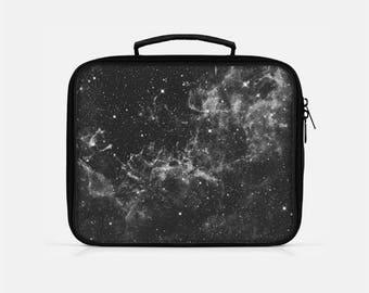 Galaxy Lunch Box, Space Lunch Box, Black Lunch Box, Lunch Box Adult, Lunch Box for Men, Lunchboxes, Stars Lunch Box,