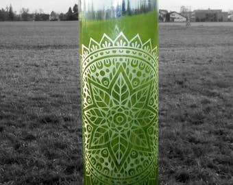 Bottle of water mandala 1