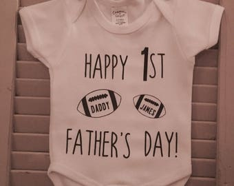 Custom Father's Day Onesies