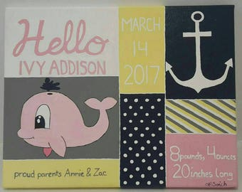 Personalized Birth Announcement