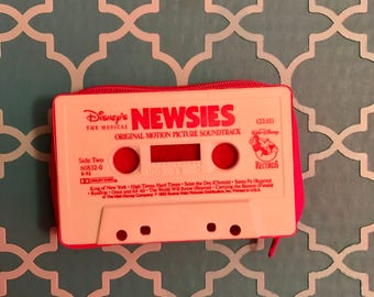 Newsies Tape Cassette Coin Purse