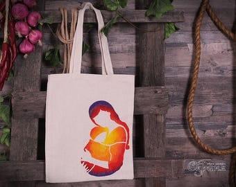 """Ecobag (Tote bag) """"Mom"""""""